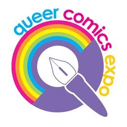 logo - queer comics expo
