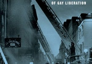 Cover of the book Tinderbox: The Untold Story of the Up Stairs Lounge Fire and the Rise of Gay Liberation, depicting firefighters putting out the fire at that nightclub.