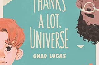 Book cover of Thanks a Lot, Universe